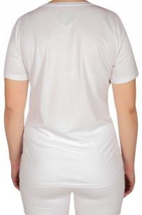 Женская футболка от Loveless Cafe (США) - КОЛЛЕКЦИЯ 2017 - вид сзади