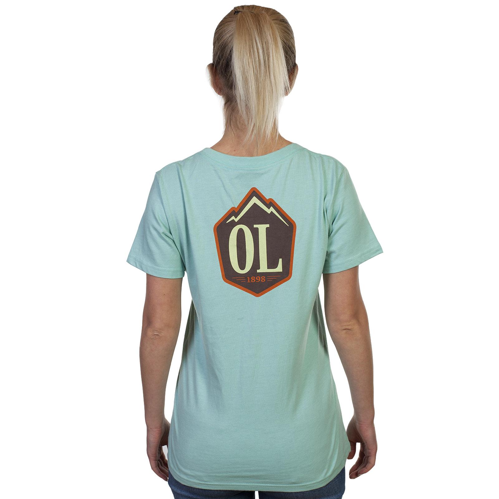 Хлопковая женская футболка Outdoor Life.