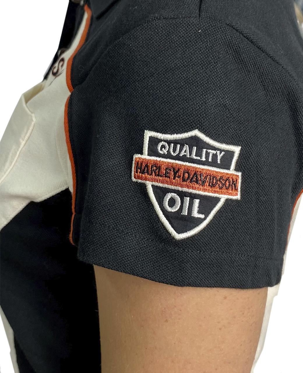 Женская футболка-поло от Harley-Davidson