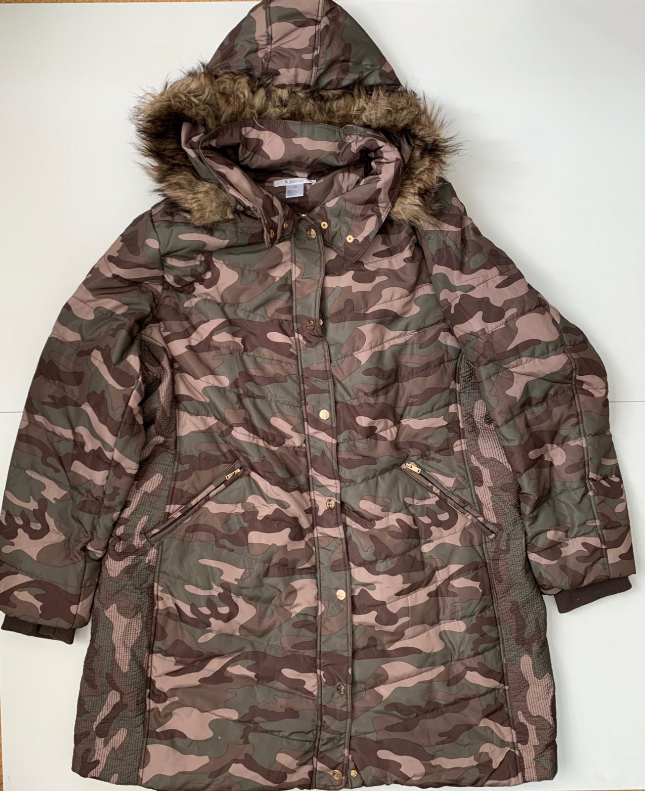 Женская камуфляжная куртка от K.Jordan