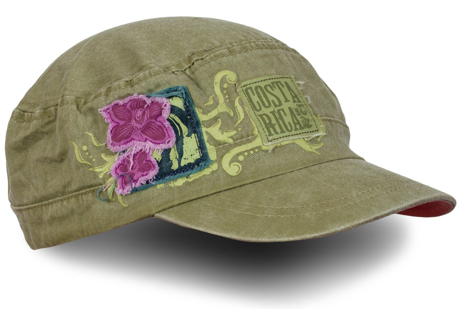 Женская кепка с нашивкой Costa Rica - купить недорого
