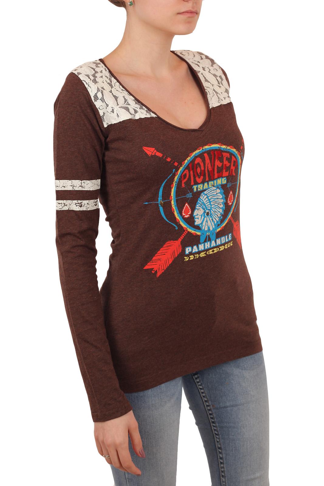 Женская кофта-пуловер с принтом и ажурным декором на плечах. Дизайнеры Panhandle предлагают эту модель под ЛЮБОЙ ансамбль. Не усложняй!