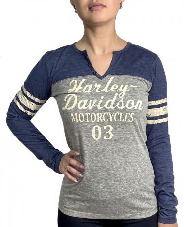 Женская кофта с принтом Harley-Davidson