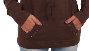 ТОП продаж от бренда Panhandle Slim. Женская кофта-туника с капюшоном и карманом кенгуру. Чтобы быть стильной не нужно платить три цены!