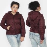 Женская куртка бордового цвета от Iwie (Италия).