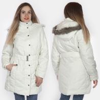 Женская куртка-пальто с капюшоном от ESMARA® (Германия).