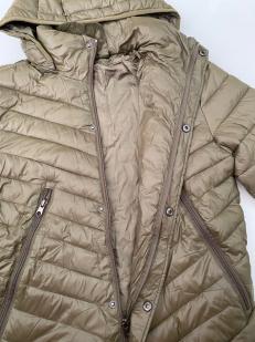 Женская куртка цвета хаки-олива