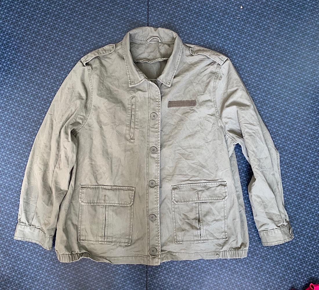 Женская куртка защитного цвета