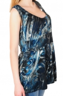 Женская летняя блуза с изящным декольте в стиле ампир. Фаворит сезона от ТМ  First Option