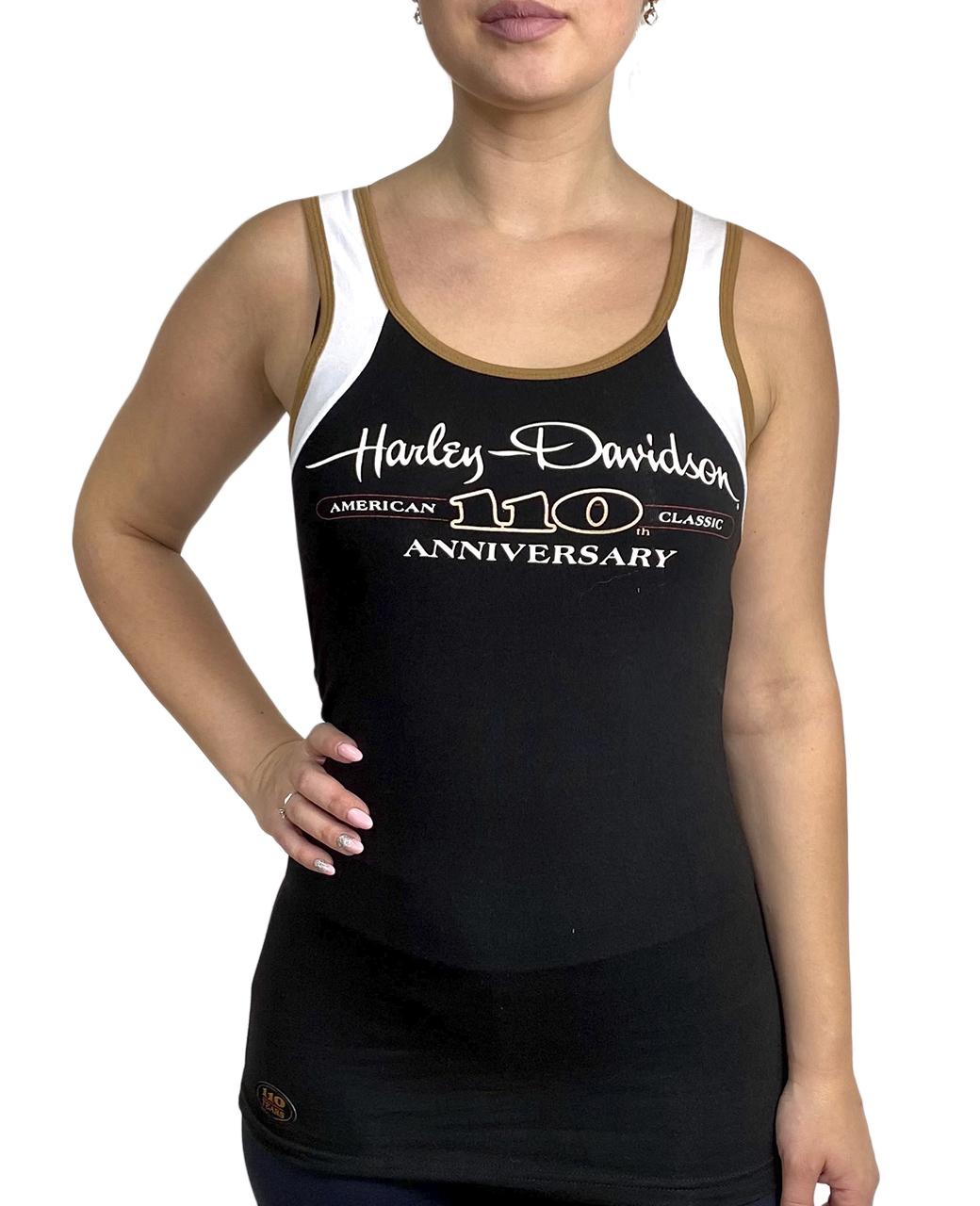 Женская майка борцовка от бренда Harley-Davidson