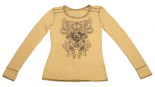 Женская нежная кофточка Panhandle Slim с дизайнерским принтом