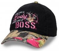 Женская охотничья бейсболка Lady Boss