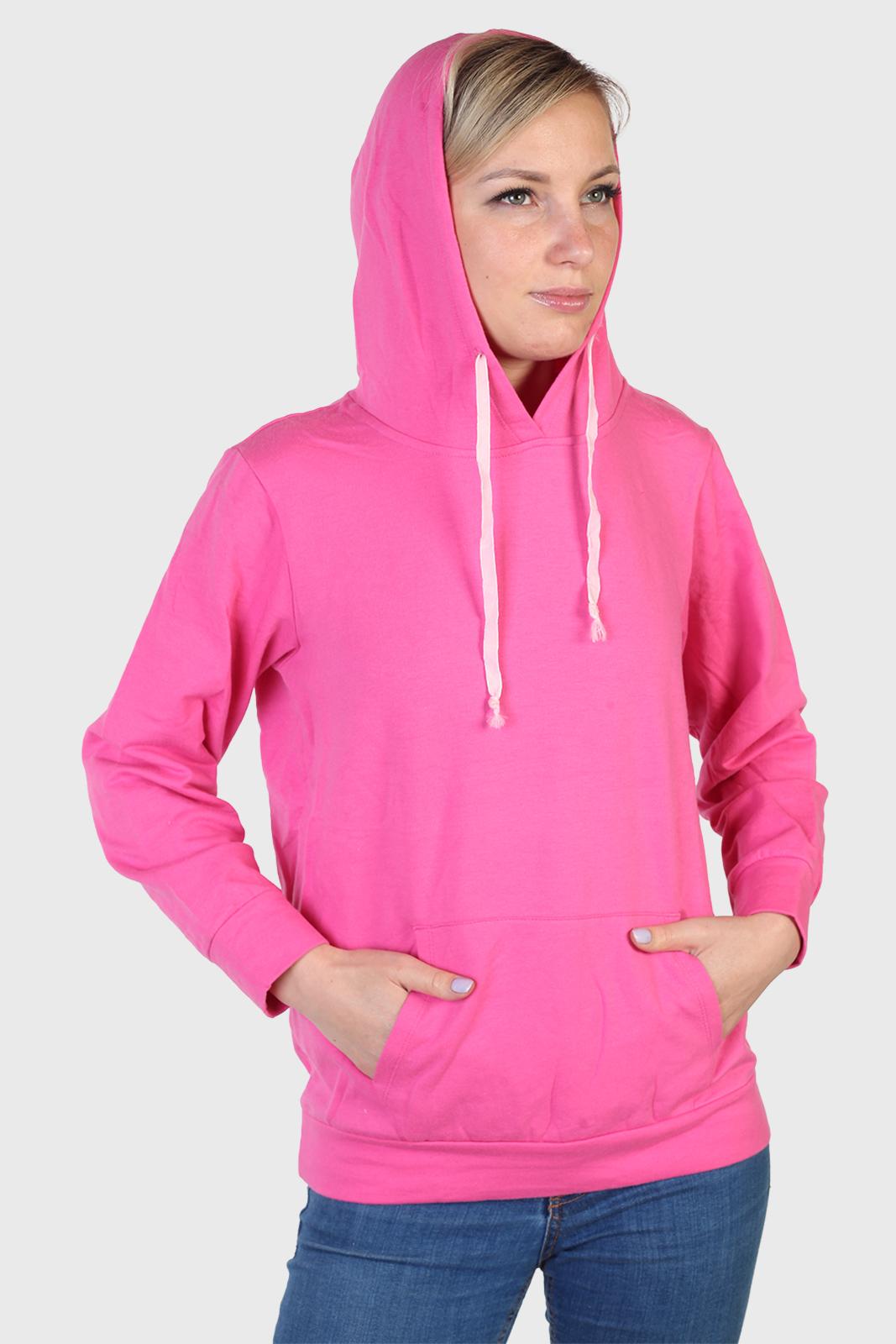Купить женскую толстовку розового цвета