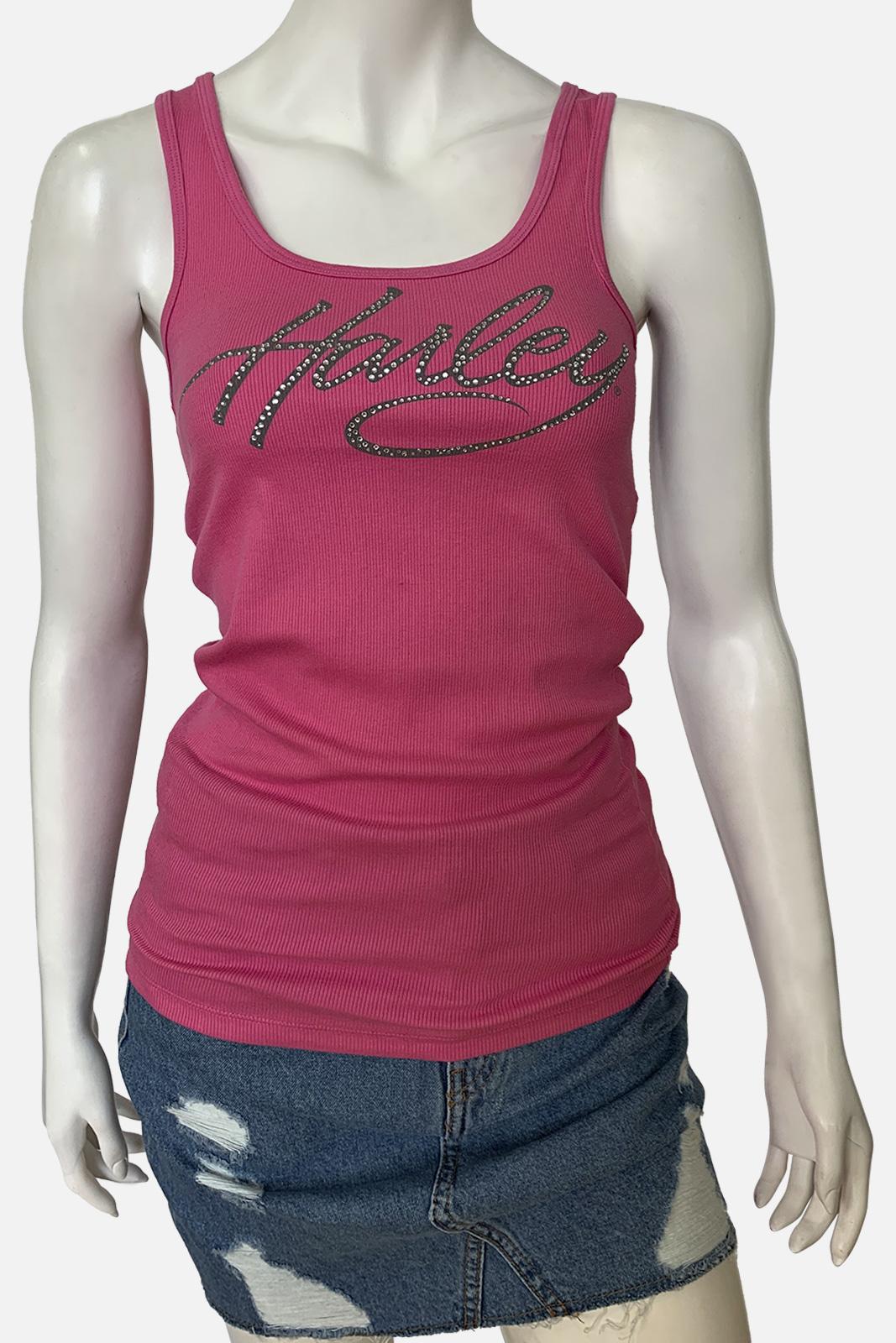 Женская розовая майка от Harley-Davidson