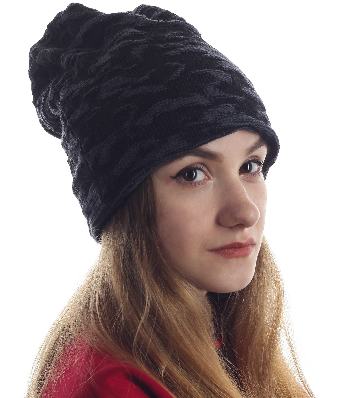 Женская шапка для современных девушек. Модный фасон не оставит равнодушной, а теплый материал защитит от холода