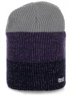 Женская шапка Neff с широкую полоску. Модель актуального дизайна для ярких красоток!