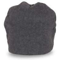 Женская шапка серого цвета
