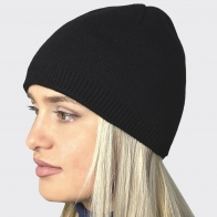 Женская зимняя шапочка с флисом
