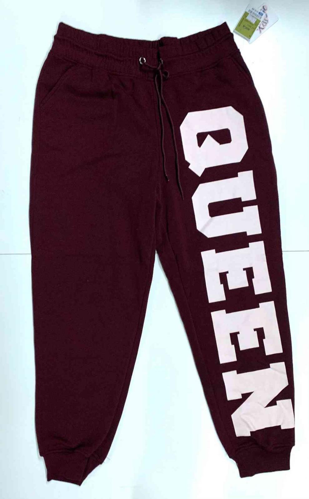 Женские бордовые штаны Queen