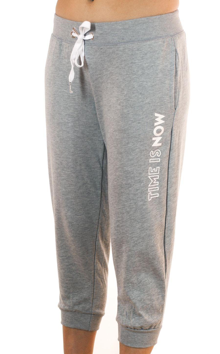 Женские брюки капри  Coco Limon для фитнес - вид спереди