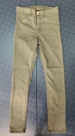 Женские джинсы бежевого цвета