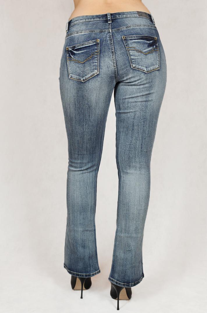 Женские джинсы-клеш от легендарного бренда H.I.S.® - новый тренд 2017!