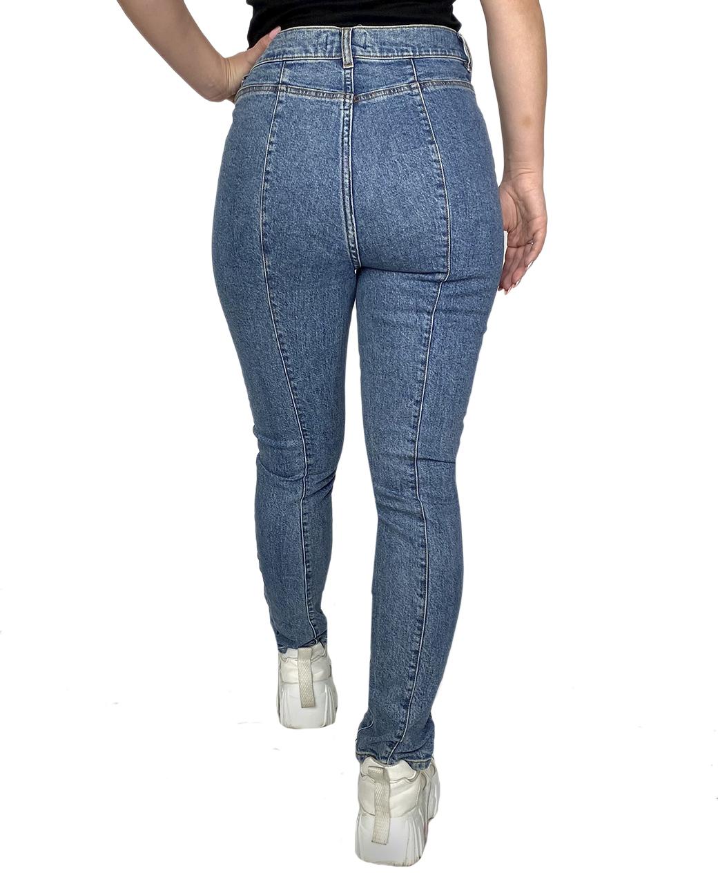 Женские джинсы со шнуровкой от Los Angeles Atelier (США)