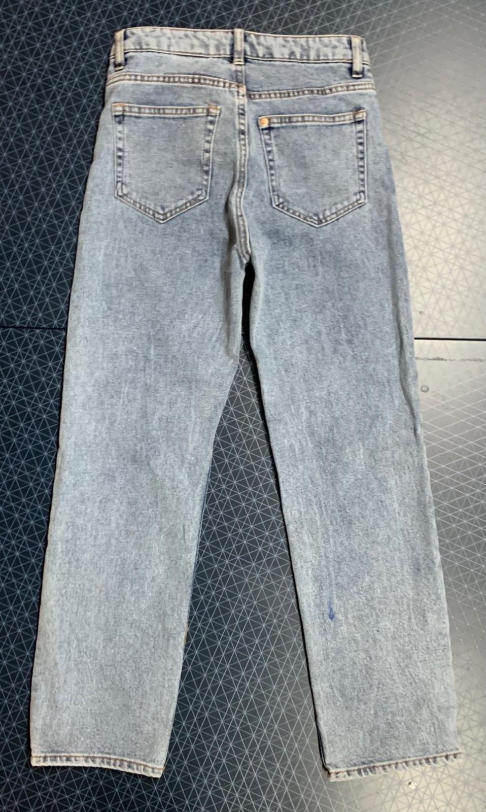 Женские джинсы светлый коттон
