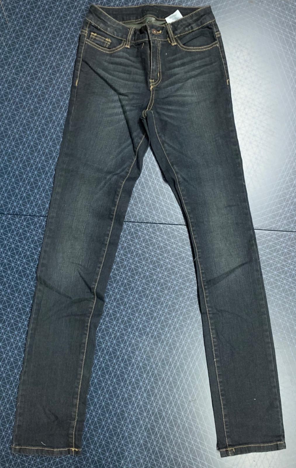 Женские джинсы темно-синий коттон