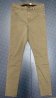 Женские джинсы цвета хаки