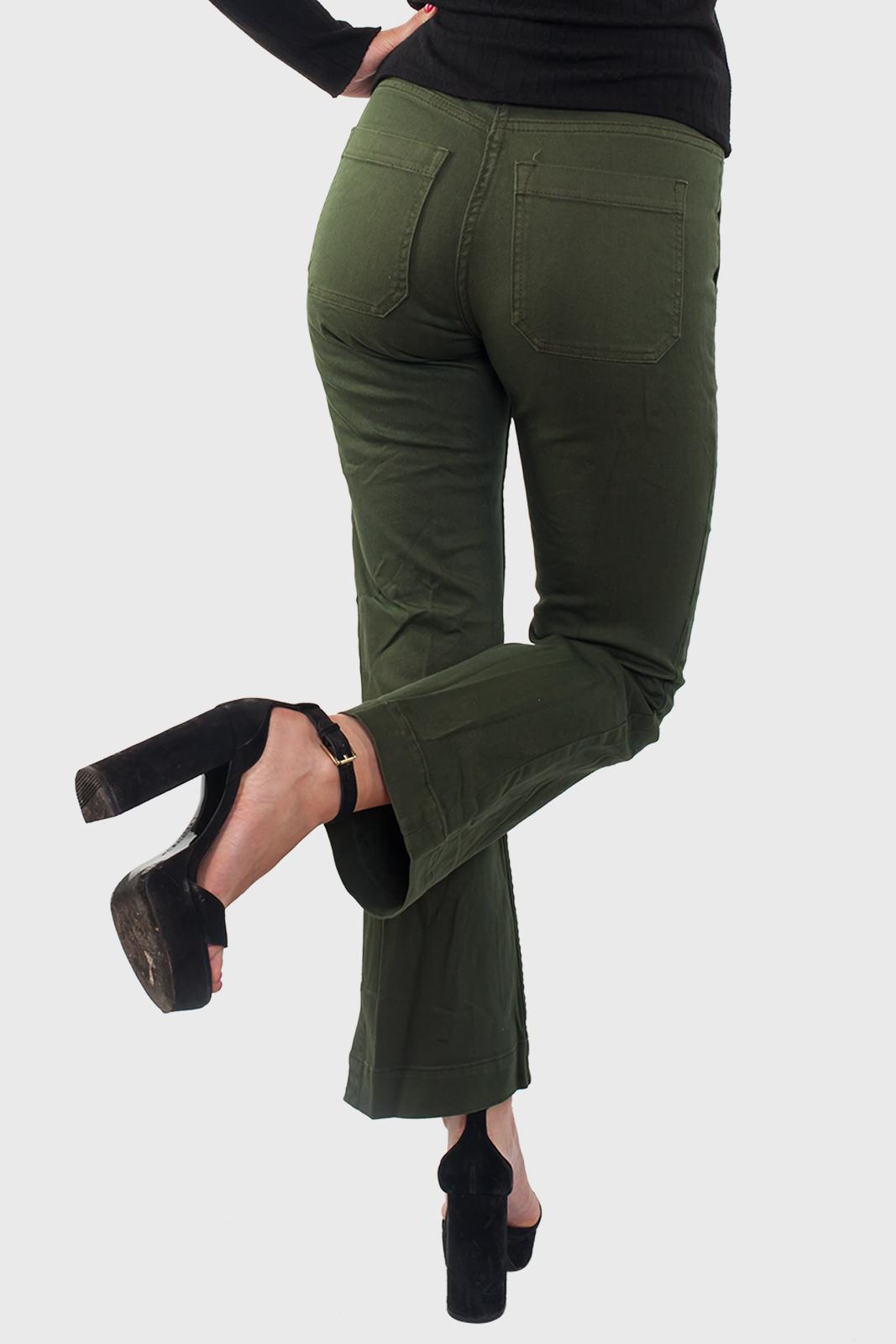 Женские джинсы цвета хаки по доступной цене