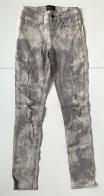 Женские джинсы-варенки с прорехами