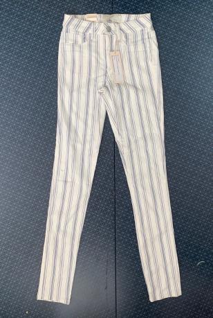 Женские полосатые брюки