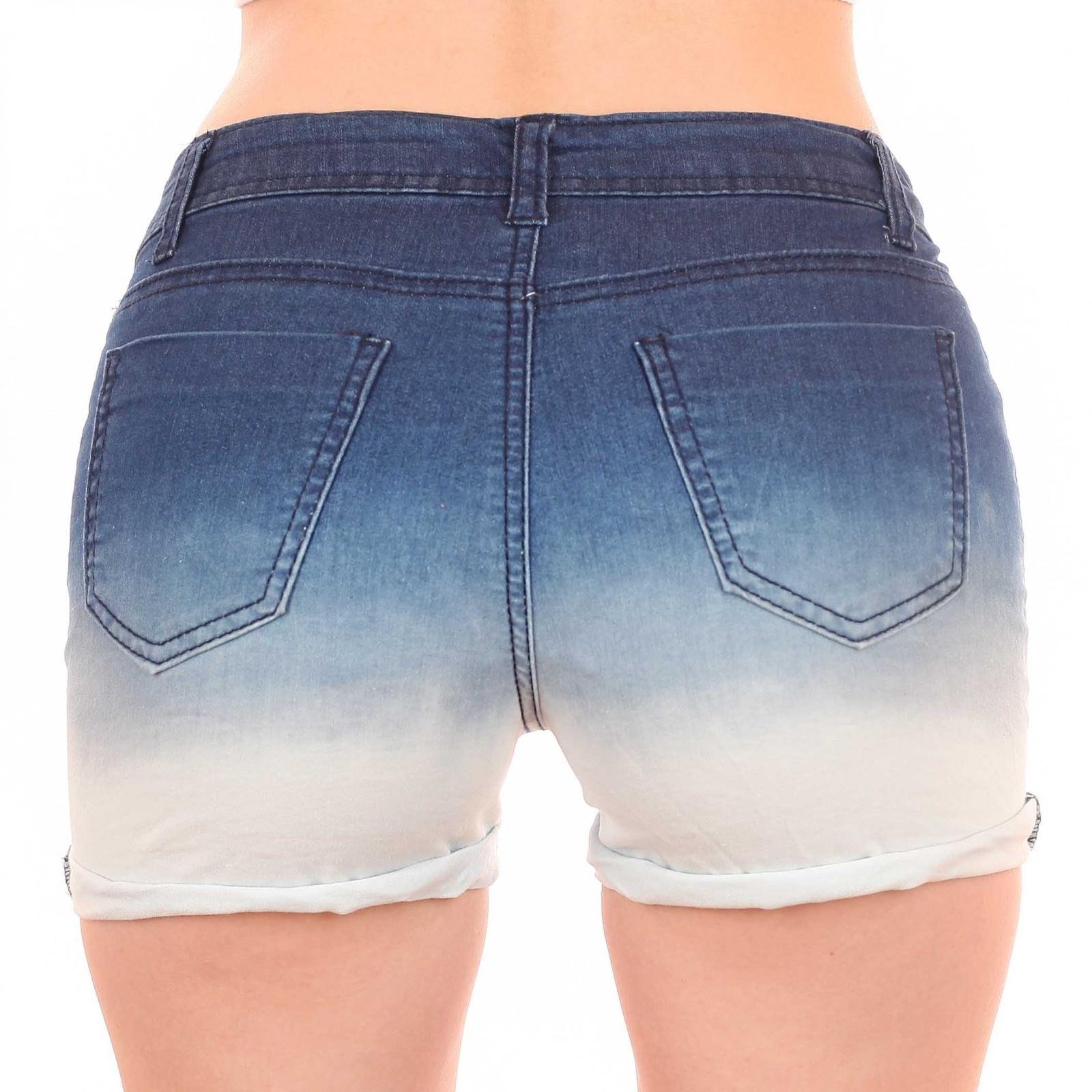 Короткие женские шортики Total Girl (США). Популярный омбре-деним для стильной леди