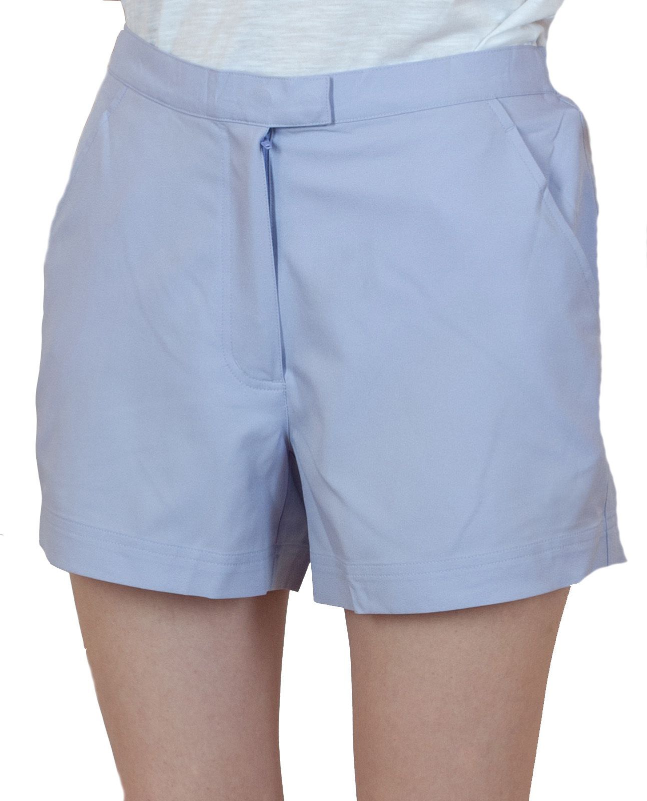 Женские шортики светло-голубого цвета
