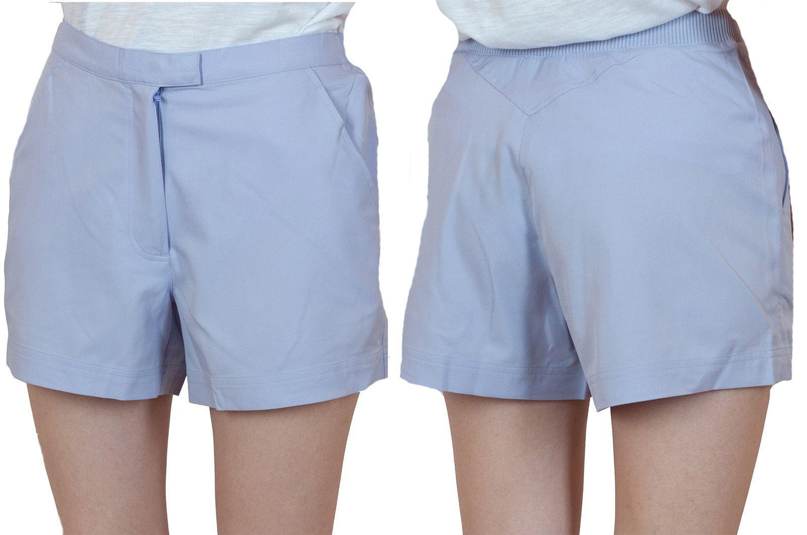 Заказать женские шортики светло-голубого цвета