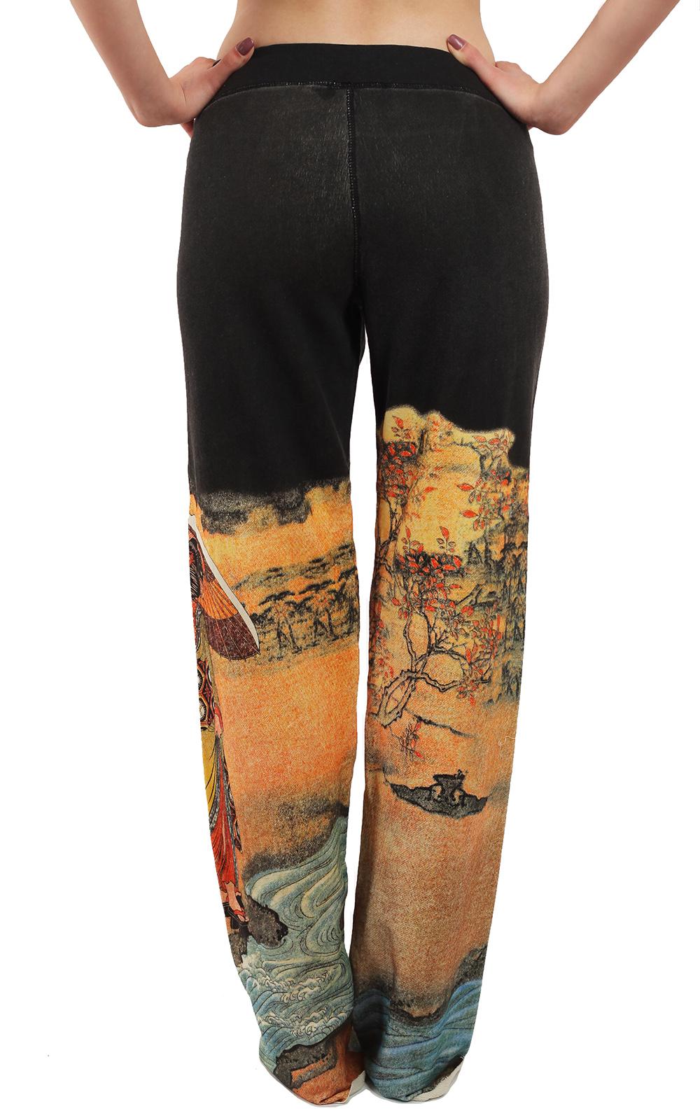 Женские свободные штаны от бренда Paparazzi. Твой стиль СПОР ШИК из натуральных волокон
