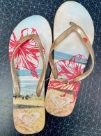 Женские сланцы ROXY для пляжа