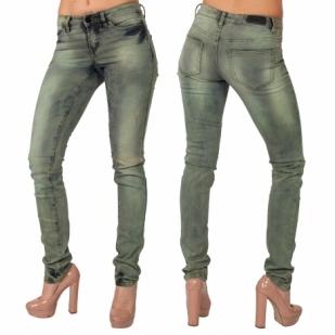 Женские слим джинсы