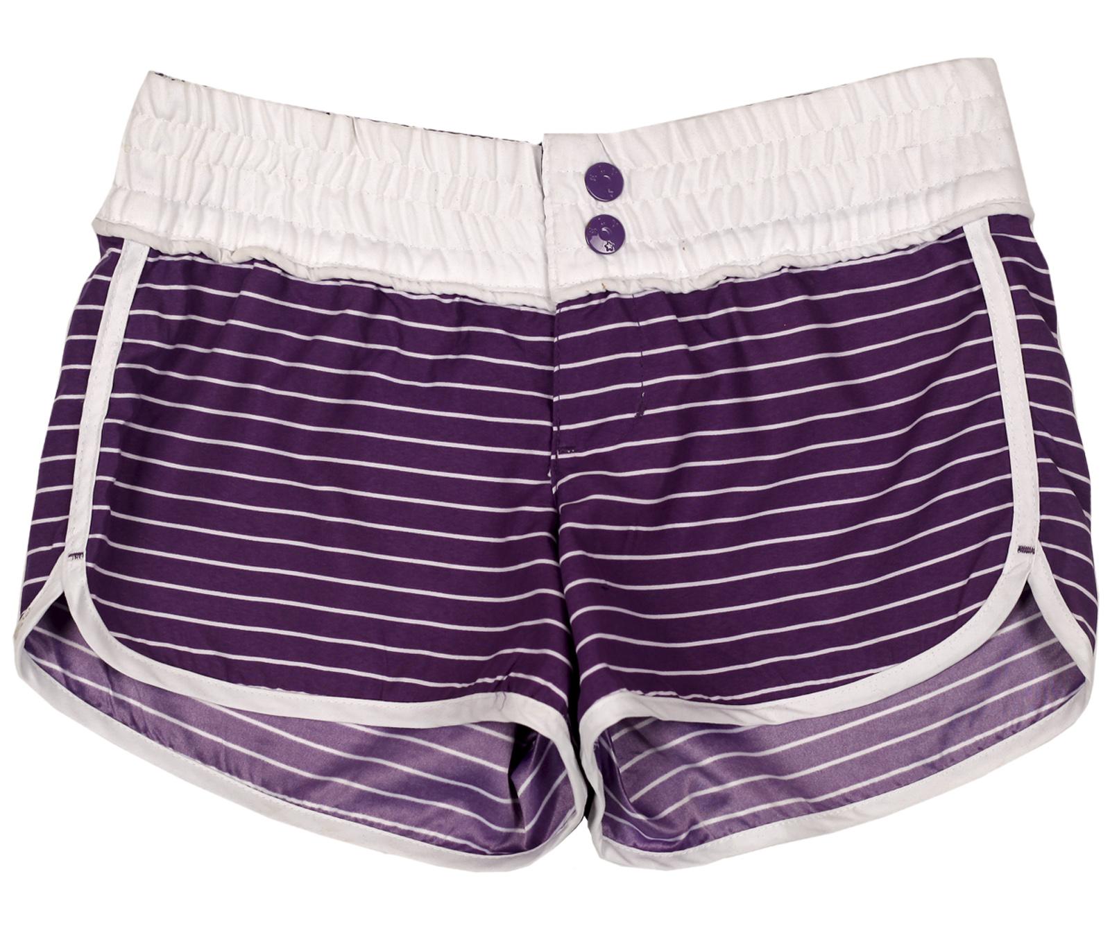 Женские стильные полосатые шорты