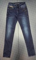 Женские темные джинсы