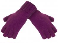 Женские вязанные перчатки без пальцев