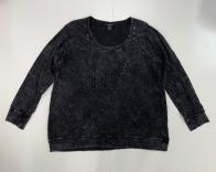 Женский черный свитшот от бренда TORRID