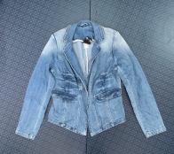 Женский джинсовый пиджак от BC