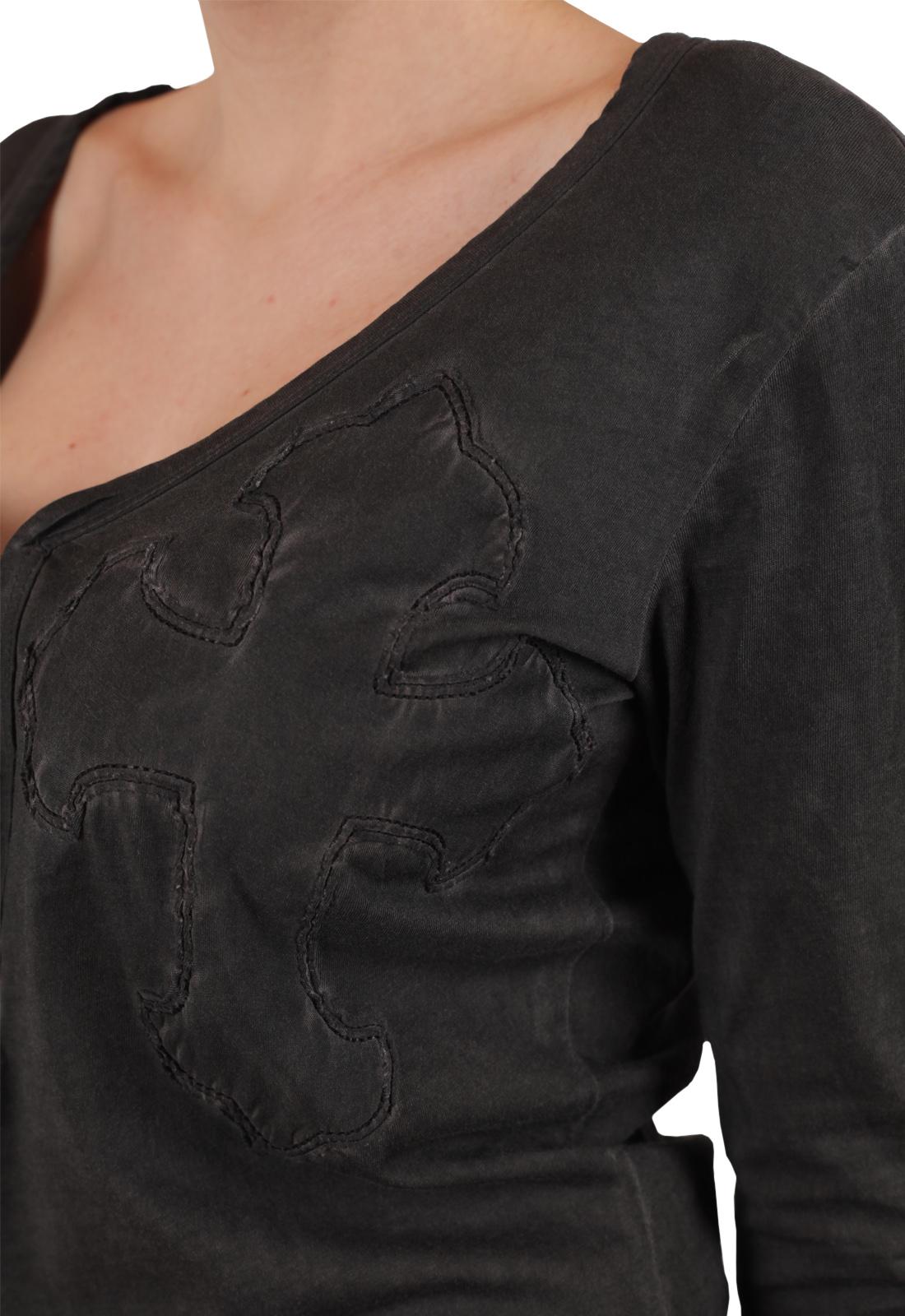 Готический женский реглан с глубоким декольте – твоя загадочная сексуальность от дизайнеров Panhandle