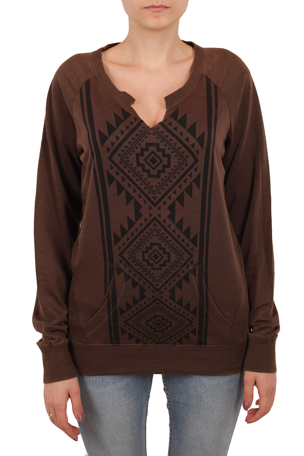 Купить женский свитер кенгуру Rock and Roll Cowgirl