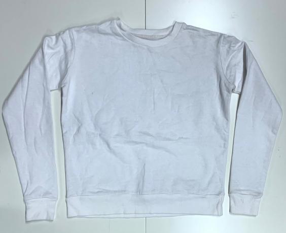 Женский свитшот белого цвета