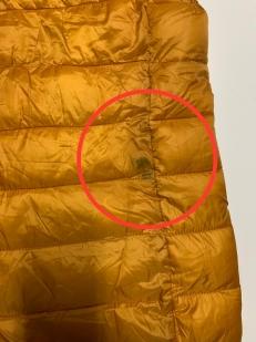 Женский топовый жилет желтого цвета