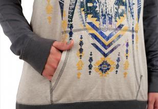 Женское худи осень-зима от ТМ Rock and Roll Cowgirl. Глубокий капюшон, удобная длина, модные цвета