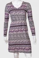 Женское приталенное платье с нежным принтом от Paco Boutique